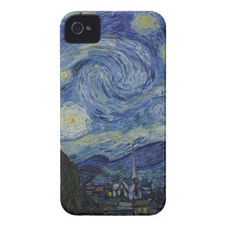 星明かりの夜、フィンセント・ファン・ゴッホ著1889年 Case-Mate iPhone 4 ケース