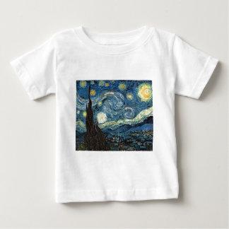 星明かりの夜 ベビーTシャツ