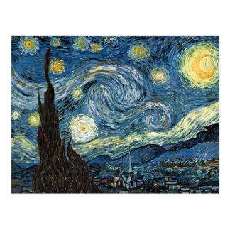 星明かりの夜 ポストカード
