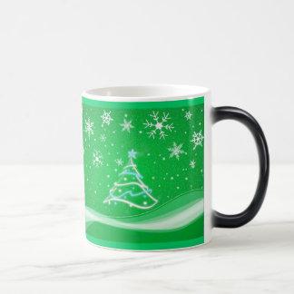 星明かりの夜-緑 モーフィングマグカップ
