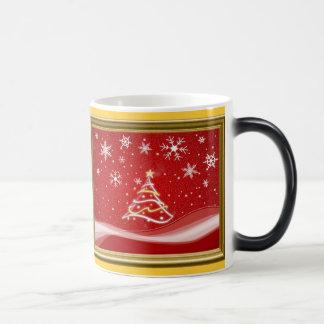 星明かりの夜-金ゴールド モーフィングマグカップ
