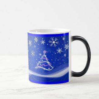 星明かりの夜-青 モーフィングマグカップ