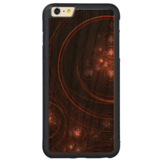 星明かりの抽象的な抽象美術 CarvedチェリーiPhone 6 PLUSバンパーケース