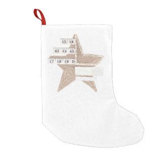 星明かりの星のクリスマスのストッキング スモールクリスマスストッキング