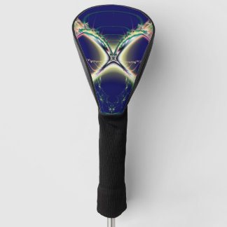 星明かりの濃紺のデザイン ゴルフヘッドカバー