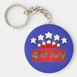 星明かりの独立記念日Keychain キーホルダー