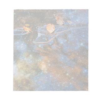 星明かりの秋の反射 ノートパッド