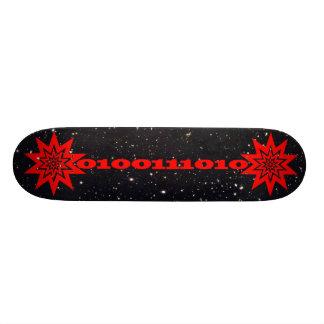 星明かりの空で破烈するPTPのレーザー光線データビーム スケートボード