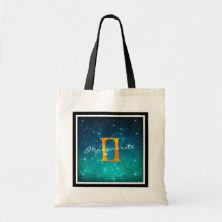 星明かりの空の(占星術の)十二宮図の日曜日の印のジェミニ トートバッグ