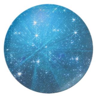 星明かりの青空 プレート