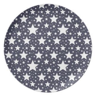 星明かりの青 プレート