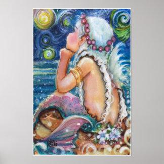 星明かり、星明かりの夜人魚 ポスター