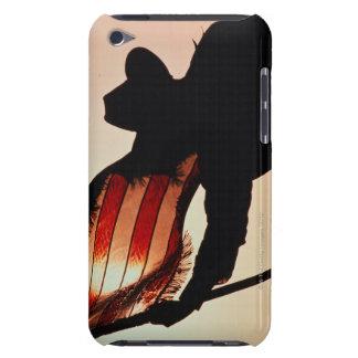 星条旗のシルエットを握っているカウボーイ Case-Mate iPod TOUCH ケース