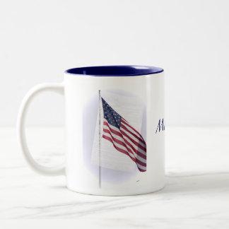 星条旗のマグ ツートーンマグカップ