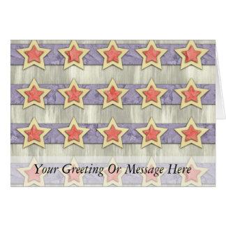 星条旗の切口の出口 カード