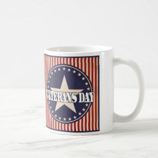 星条旗の復員軍人の日のマグ コーヒーマグカップ