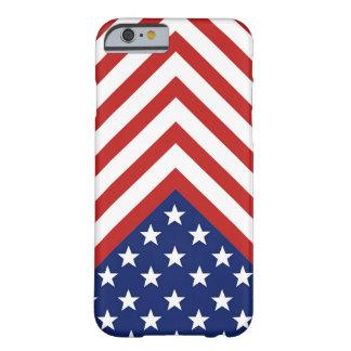 星条旗の愛国者の設計 BARELY THERE iPhone 6 ケース