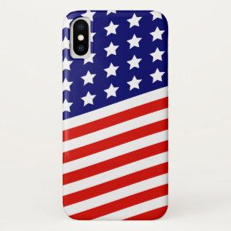 星条旗の米国旗 iPhone X ケース