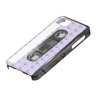 星条旗の花のリボンカセット iPhone SE/5/5s ケース