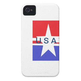 星条旗のiPhone 4.4SSの場合 Case-Mate iPhone 4 ケース