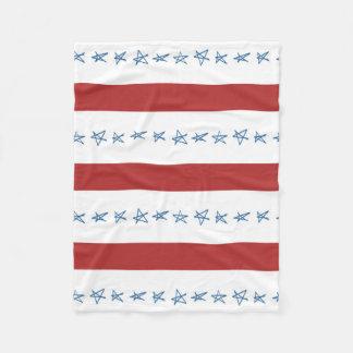 星条旗毛布 フリースブランケット