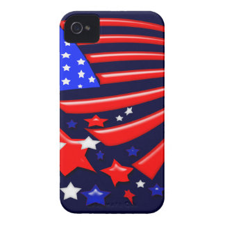 星条旗米国Iphone 4/4Sの例 Case-Mate iPhone 4 ケース