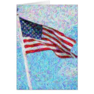 星条旗 カード