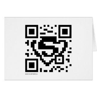 星条旗QRコード カード