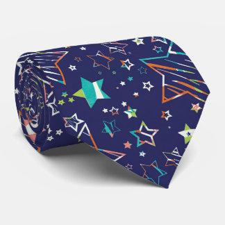 星海軍ターコイズのオレンジ ネクタイ