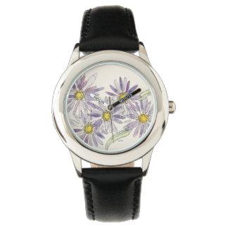 星状体はナンHenkeのオリジナルの水彩画から見ます 腕時計