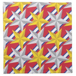 星米国パターン ナプキンクロス