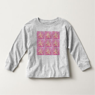 星長袖t トドラーTシャツ