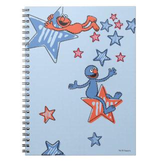 星間のElmoそしてグローバー ノートブック