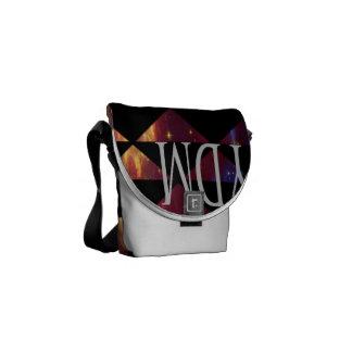 星雲のメッセンジャーバッグ クーリエバッグ