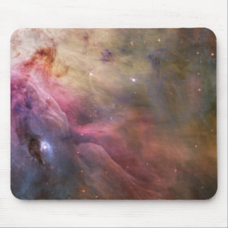 星雲の明るい星の銀河系のヒップスターのオタクのカッコいいの宇宙 マウスパッド