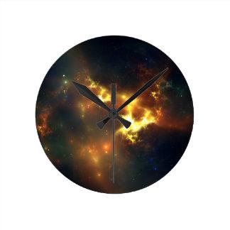 星雲の時計 ラウンド壁時計
