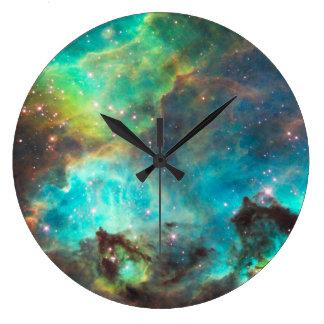 星雲の柱時計 ラージ壁時計