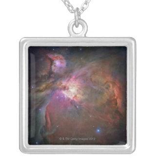 星雲オリオン シルバープレートネックレス