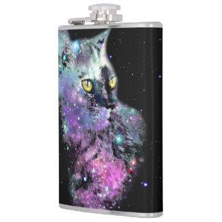 星雲猫のビニールのフラスコ フラスク