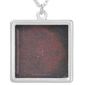 星雲8 シルバープレートネックレス