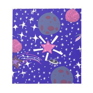 星雲 ノートパッド
