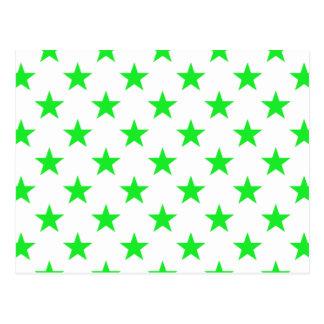 星1の緑 ポストカード