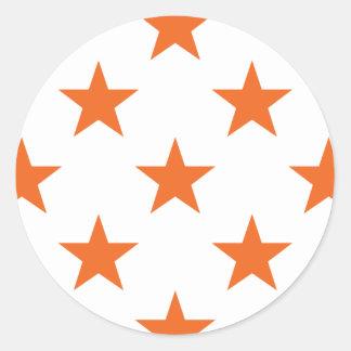 星1のCelosiaのオレンジ ラウンドシール