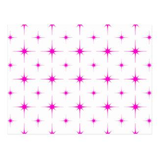 星6のピンク ポストカード