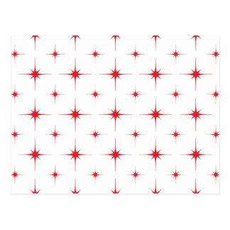 星6の赤 ポストカード