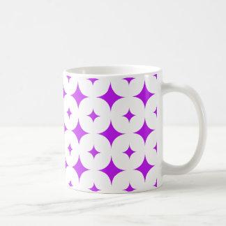 星7の紫色 コーヒーマグカップ