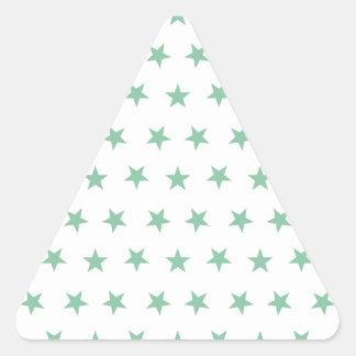 星8のアメリカツガ 三角形シール