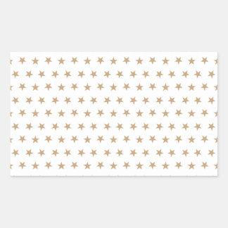 星8の砂 長方形シール