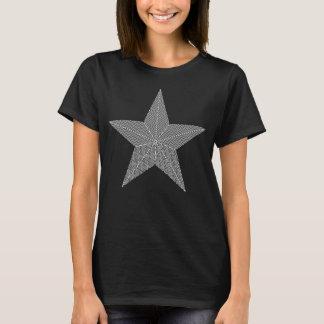 星(シェブロンパターン) Tシャツ