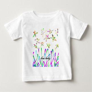 星 ベビーTシャツ